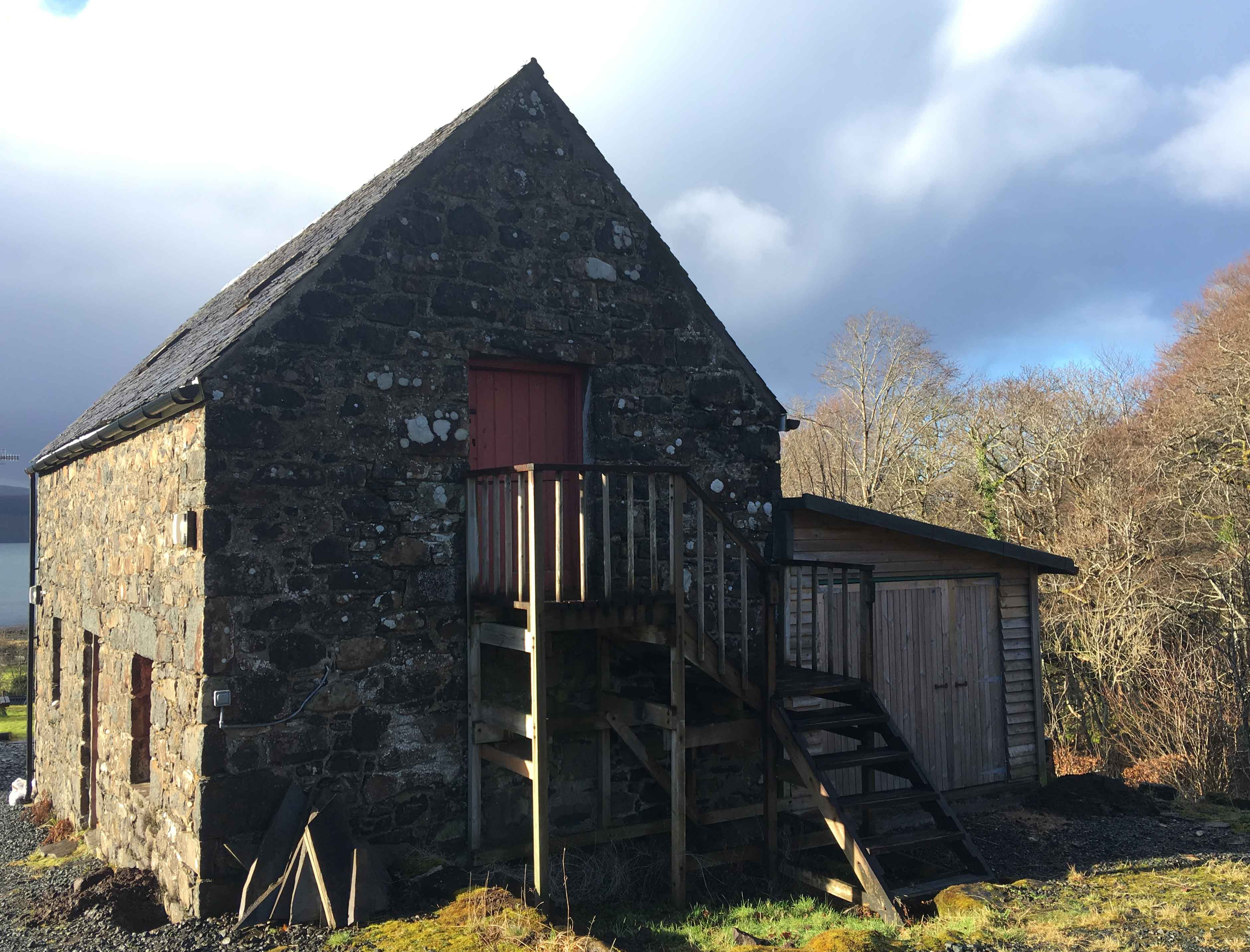 Planning approved for a beautiful Steading refurbishment in Drimnin.